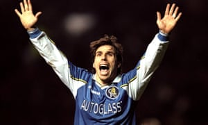 Gianfranco Zola, a maestro for Chelsea, makes the list of special signings in the Premier League era but does not command top spot.