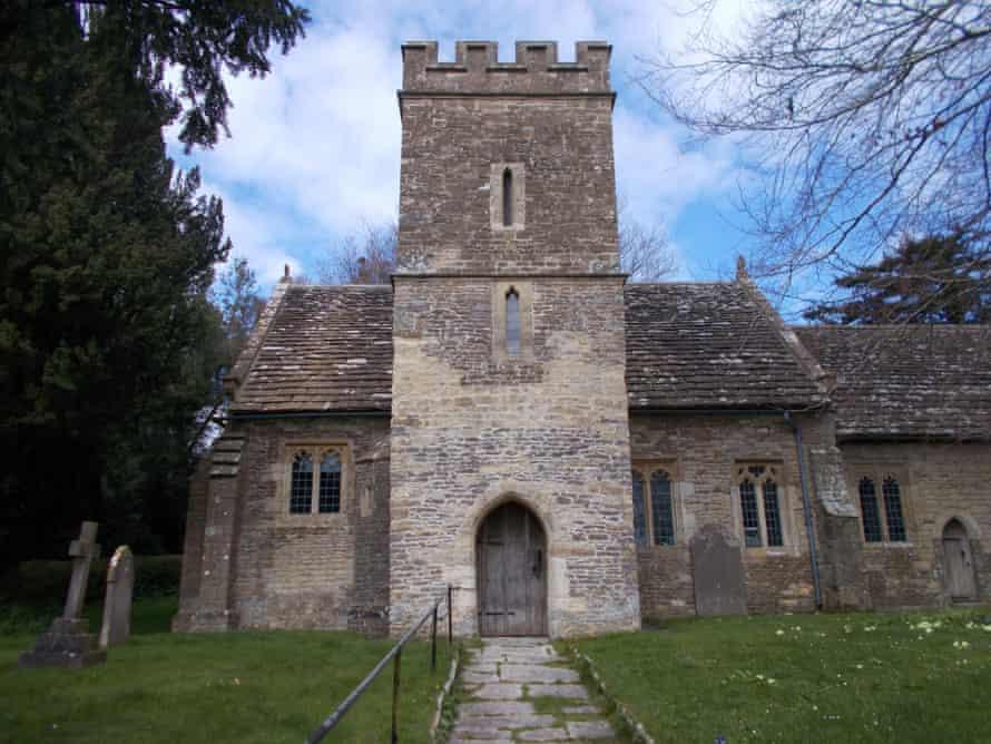 Saint Mary's church in Fifehead Magdalen.