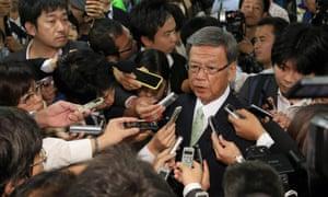 Takeshi Onaga, Okinawa governor