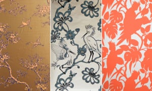 Three Florence Broadhurst prints