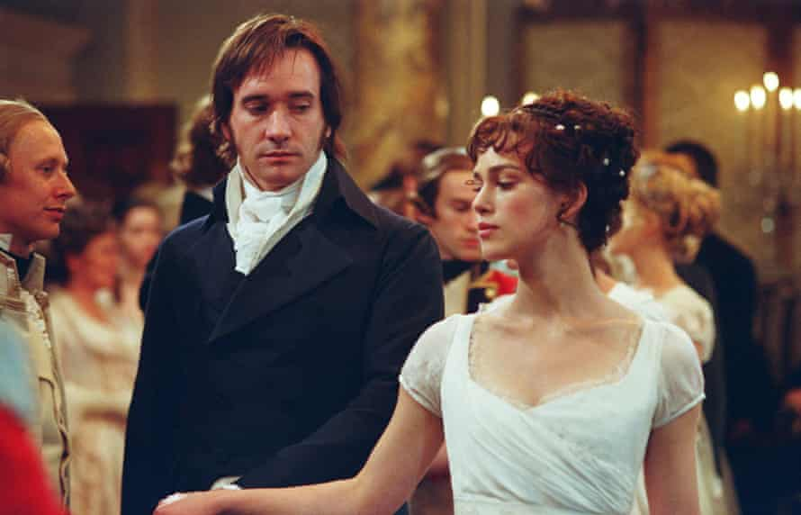 Matthew Macfadyen and Keira Knightley in Pride and Prejudice.
