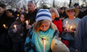 Kansas shooting vigil