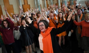 The Voices for Indi campaign elected independent MP Cathy McGowan, pictured, twice and made history by electing Helen Haines to succeed her