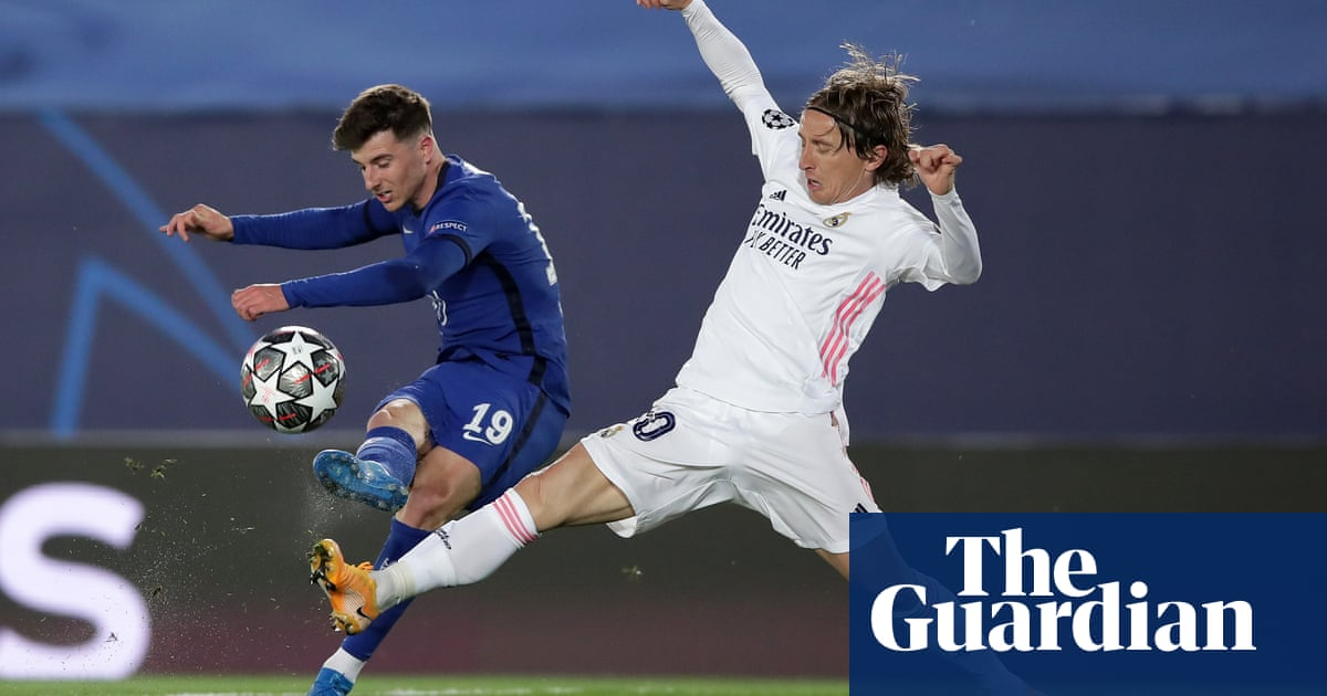 Mason Mount goes into midfield duel with Luka Modric on equal footing