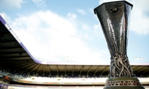 The Europa League trophy, the one Jose Mourinho has been dreaming of.