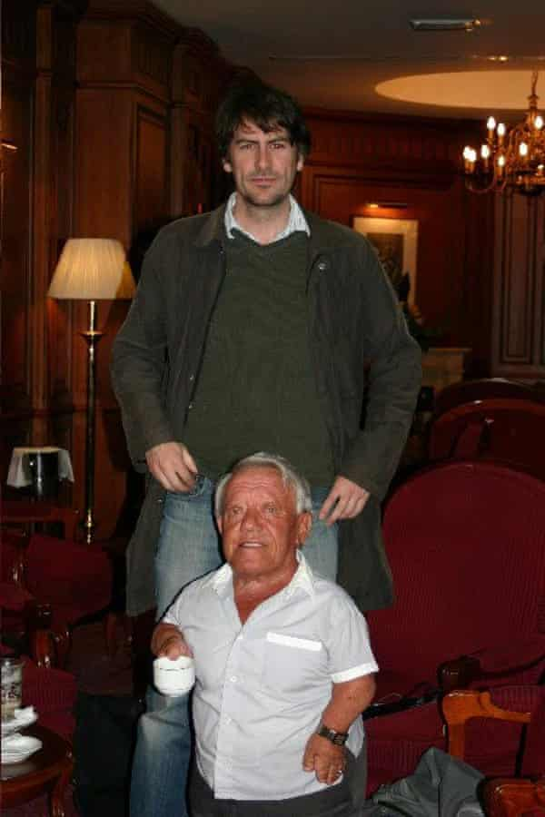 Kenny Baker and James Innes-Smith