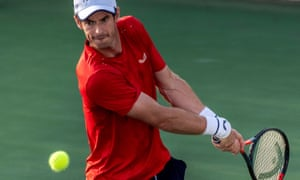 Andy Murray lost just one game in the first round of the Rafa Nadal Open