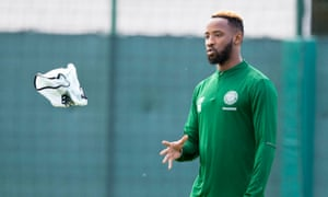Moussa Dembélé has joined Lyon after a training ground row led Celtic to let the striker go.