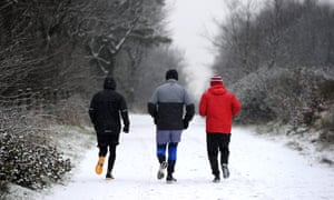 'Research suggests that if people are meeting up with friends to exercise they are less likely to pull out.'