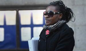 Onasanya at the Old Bailey in London.