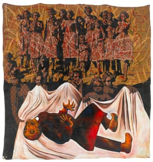 Goodbye white fella religion by Julie Dowling, 1992. Badimaya, born 1969.