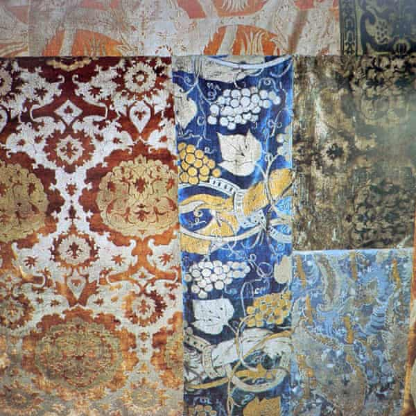 Fortuny hanging textiles