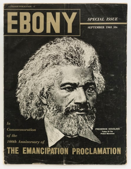 A 1963 issue of Ebony, with Frederick Douglass on the cover.