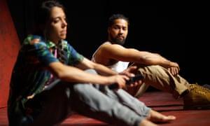 Self-exposure and tenderness ... Gabriela Garcia and Devon Anderson.