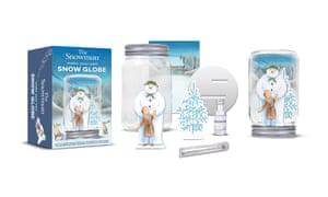 The Snowman make your own snow globe, £12.99, gosh.org
