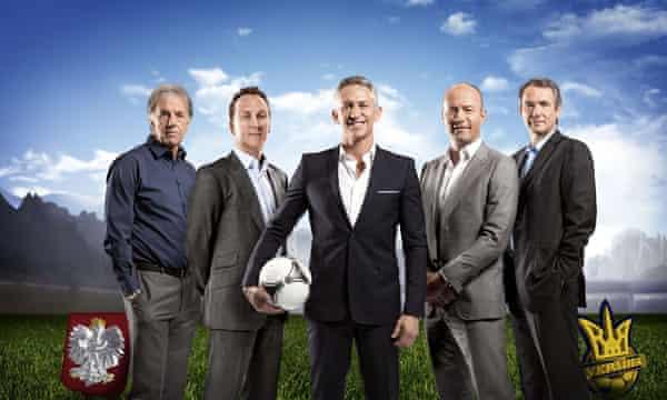 The Euro 2012 presenting team.