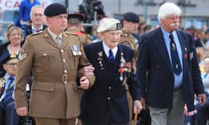 Veterans start to gather in Arromanches, France, ahead of the commemorations there for the 75th anniversary of the D-Day landings.