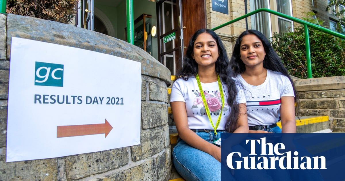 'We've had to adapt': A-level students react to record-breaking results