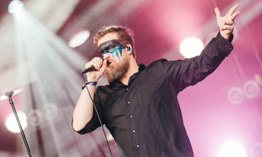 John Grant performing in Denmark, 2019.
