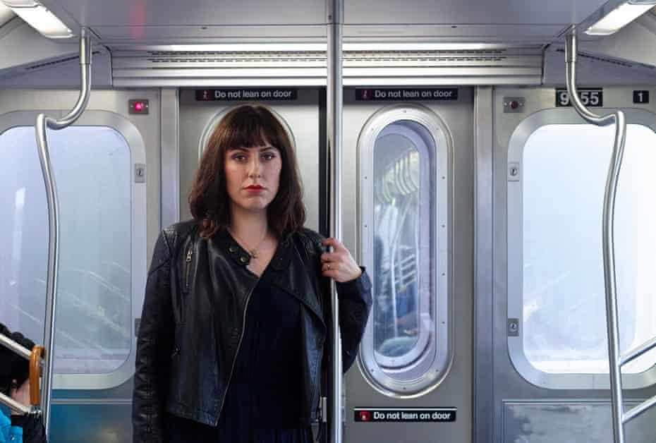 Jessica Valenti on the New York subway