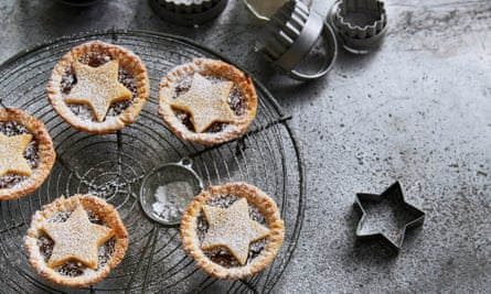 Mince pies from Blanche Vaughan.