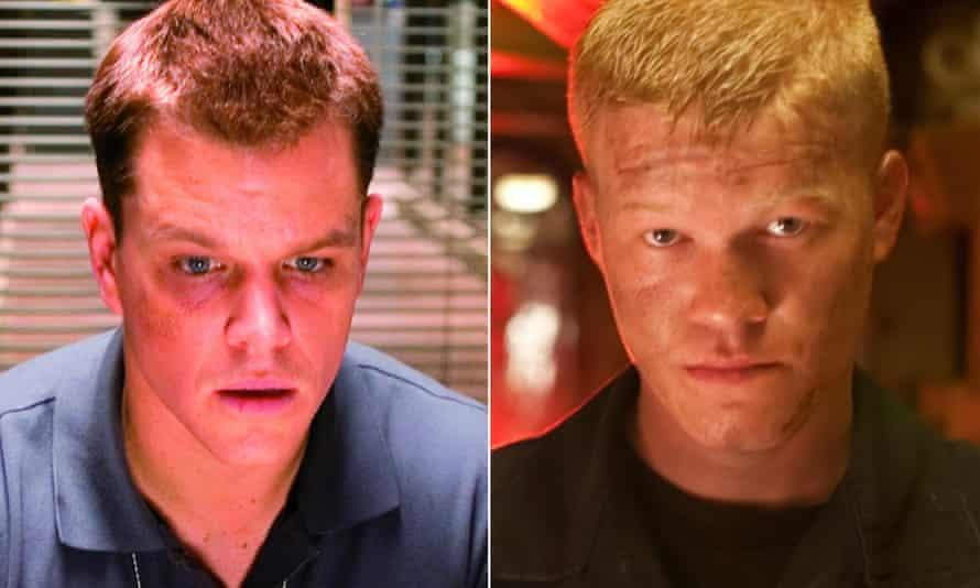Matt Damon (left) and Jesse Plemons