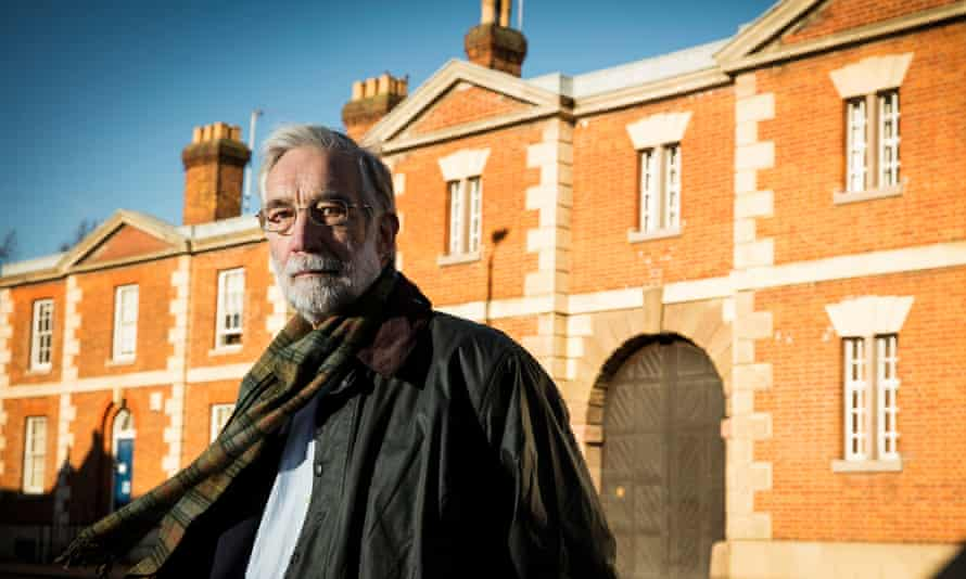 Christopher Padfield at Bedford prison, where he has been an IMB volunteer for eight years.