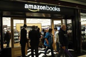 Amazon bookstore New York