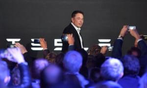 Tesla's CEO, Elon Musk