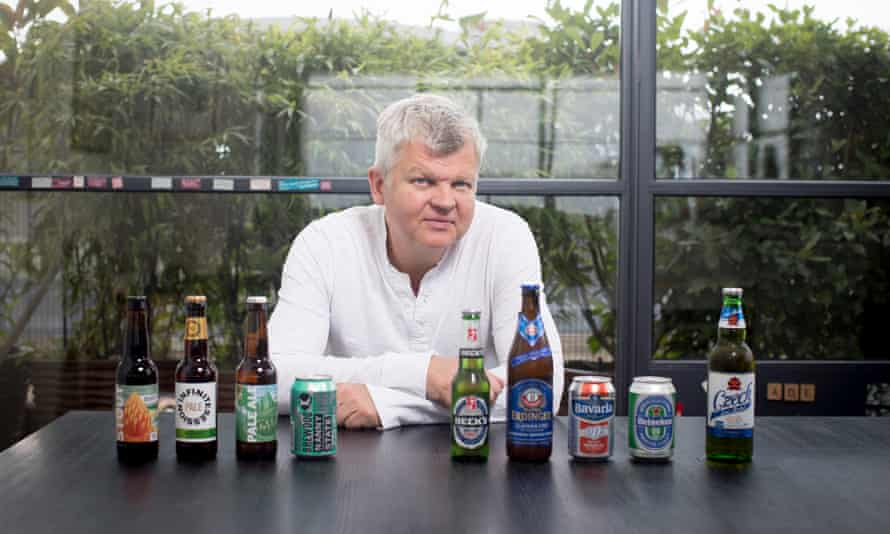 Adrian Chiles tests alcohol-free beer