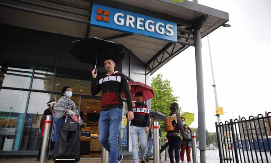 A branch of Greggs in London