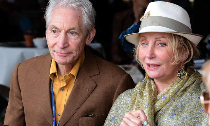 Charlie and Shirley Watts at the Pride of Poland Arabian horse sale in 2012. They bred horses at their Halsdon Arabians farm in Devon.