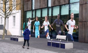 Part of the Tottenham Hotspur Stadium