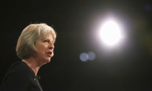 Theresa May said: 'If you break your arm … people will come up and talk to you about it. If you have a mental health problem people are more likely to try to avoid you.'