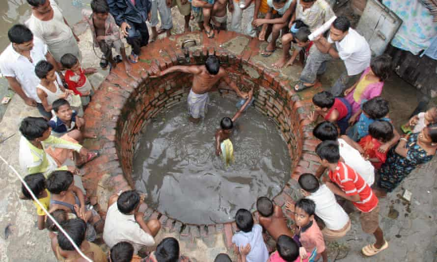 Fifteen to twenty million wells extract water from the Indo-Gangetic basin every year amid growing concerns about depletion.