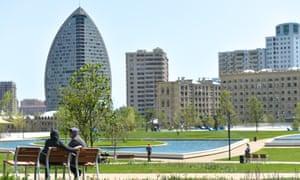 The Trump Tower in Baku