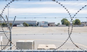 'Like a phoenix from the ashes, the car industry will rise again' … a wide shot of the closed Holden plant