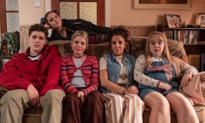 Too uneasy to win? ... Derry Girls.