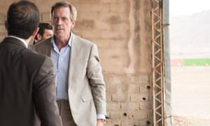 Hugh Laurie as villain Richard Roper in The Night Manager.