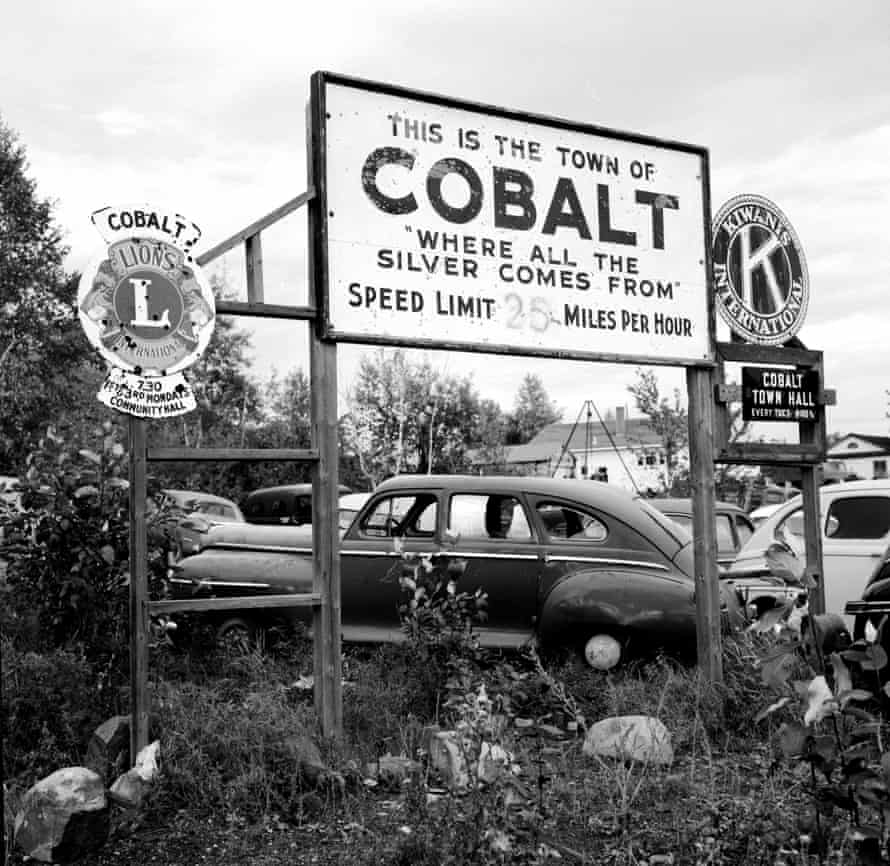 The town boundary of Cobalt