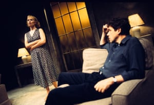 Ashes to AshesLindsay Duncan (Rebecca) and Stephen Rea (Devlin); directed by Harold Pinter. Upstairs at the Royal Court, London, 1996.