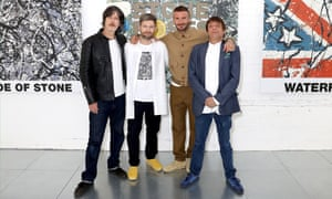 John Squire, Daniel Kearns, David Beckham, Mani London Fashion Week Men's