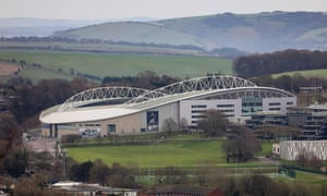 Brighton's Amex Stadium could potentially be used as a neutral ground as it is away from highly populated urban centres