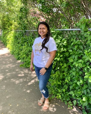 Dee Ann Hasinto, 22, has been stranded in Oregon in the US since the outbreak of the pandemic. She is desperate to return home home to Palau to her five-year-old daughter.