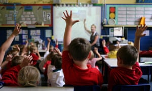 Embargoed to 0001 Tuesday March 1 File photo dated 06/07/11 of children raising their hands to answer a question, as growing teacher shortages are having a damaging impact on children's education, according to the Association of School and College Leaders (ASCL). PRESS ASSOCIATION Photo. Issue date: Tuesday March 1, 2016.