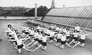London life … a fitness class at the Peckham Pioneer Centre in 1946.