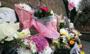 Floral tributes to Libby Squire