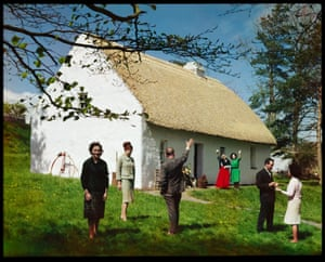 Irish Thatched Cottage, Bunratty, Co. Clare, Ireland photograph by E. Ludwig