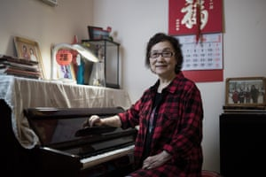 Zhang Xizhen poses at her home on May 20, 2019 in Beijing, China.