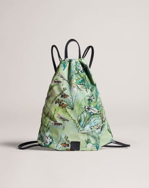 From sea to skyDunhill has revived archive prints from 1949 to create the limited-edition Aquarium collection. Illustrations of birds and fish swoop and swim on shirts, oversized bomber jackets, leather goods and this vibrant drawstring backpack. From £175, dunhill.com